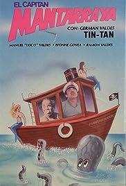 El capitán Mantarraya Poster
