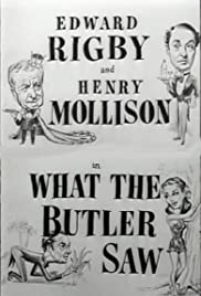 What the Butler Saw Poster