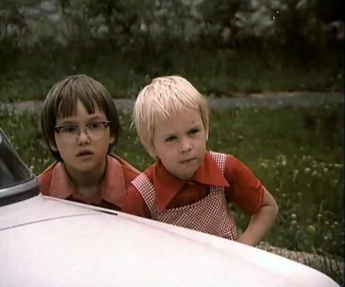 Pavel Lazar and Svetlana Majbová in Spadla z oblakov (1978)