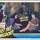 Gloria Franklin and Margaret Lindsay in Meet the Wildcat (1940)