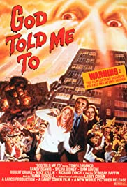 God Told Me To (1976) Poster - Movie Forum, Cast, Reviews