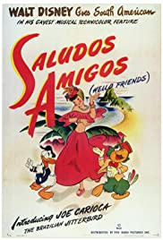 Saludos Amigos (1942) Poster - Movie Forum, Cast, Reviews