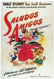 Saludos amigos 1942 imdb saludos amigos poster altavistaventures Images
