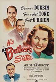 His Butler's Sister (1943) Poster - Movie Forum, Cast, Reviews
