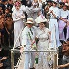 Claudia Cardinale and Klaus Kinski in Fitzcarraldo (1982)