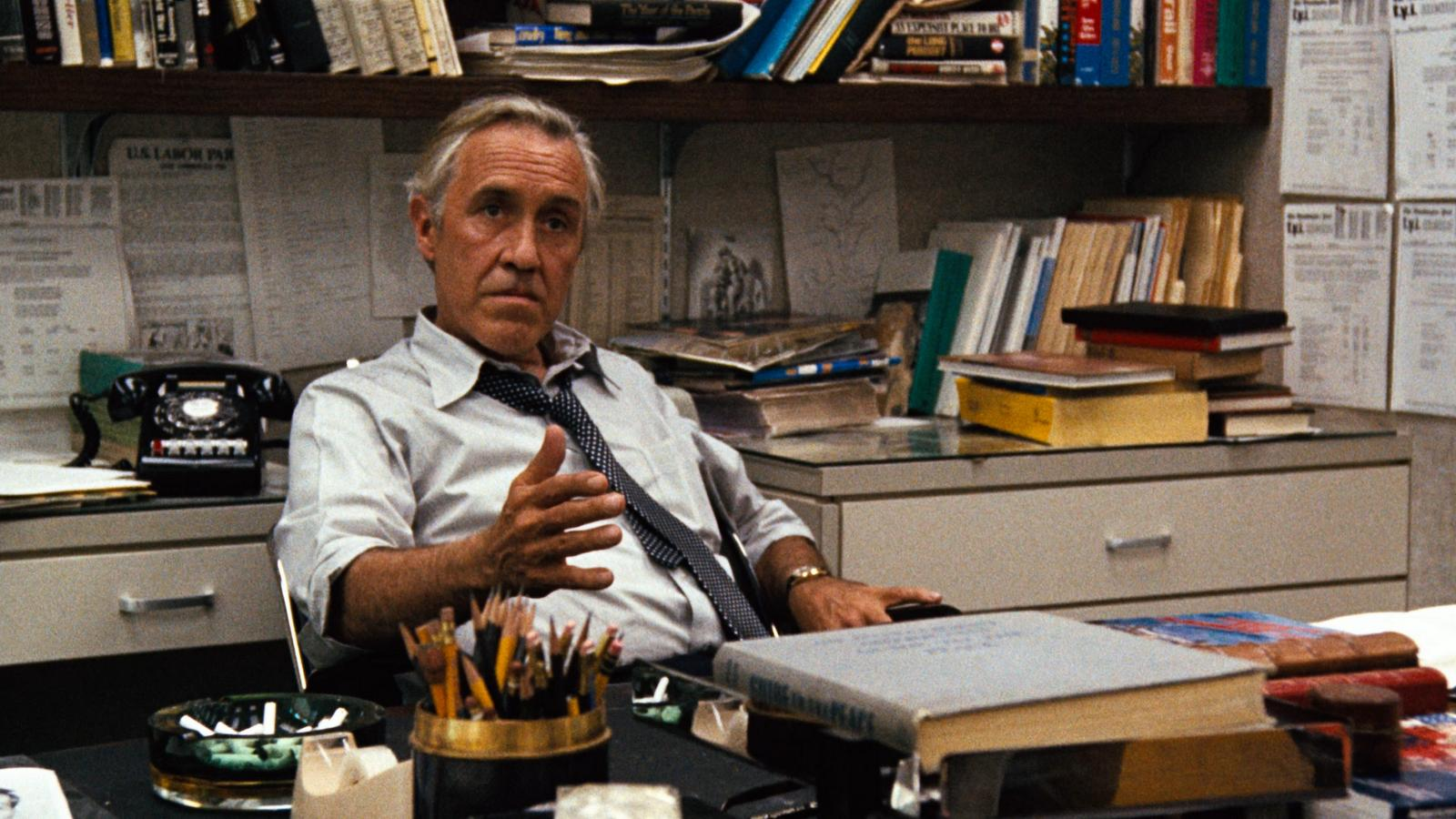 Jason Robards in All the President's Men (1976)