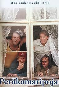 Tom Lindholm, Kari Manninen, Panu Vauhkonen, and Karri Lämpsä in Peräkamaripojat (2001)