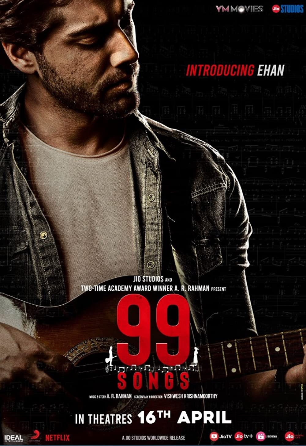 99 Songs (2021) Hindi Movie Official Trailer 1080p HDRip Download