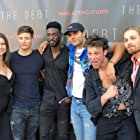 The Debt screening with castmates
