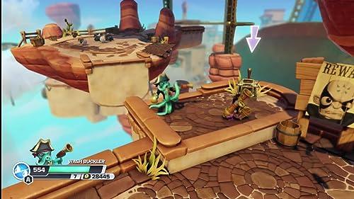 Skylanders Swap Force (Gameplay B-Roll)