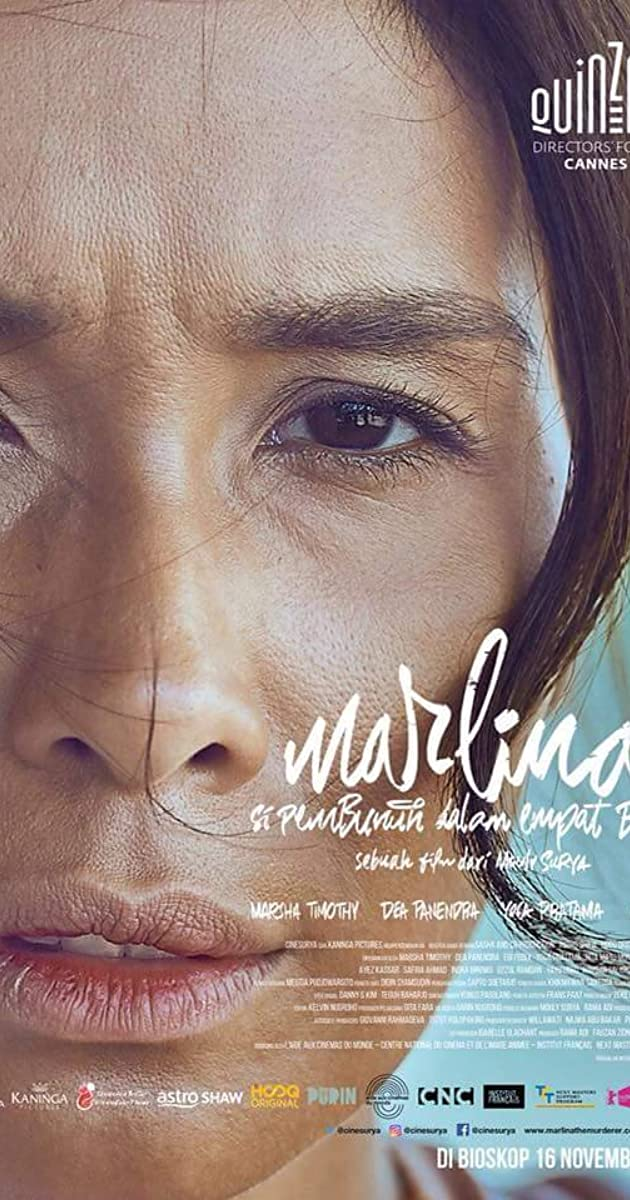 Subtitle of Marlina the Murderer in Four Acts