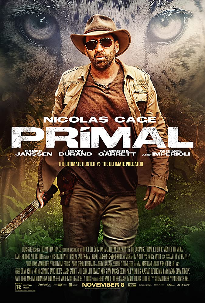 Primal 2019 Hindi ORG Dual Audio 720p BluRay 930MB ESubs Download