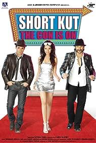 Arshad Warsi, Akshaye Khanna, and Amrita Rao in Shortkut - The Con Is On (2009)