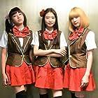 Ruka Matsuda, Natsumi Okamoto, and Akane Sakanoue in Back Street Girls: Gokudoruzu (2019)