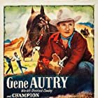 Gene Autry, Gail Davis, and Champion in Cow Town (1950)