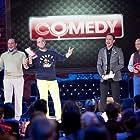 Dmitriy Khrustalyov, Viktor Vasilev, Aleksey Likhnitskiy, and Roman Yunusov in Comedy Club (2005)