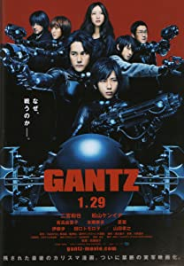 Movie free online Ганц (2010) [h.264] [720x400] [UltraHD], Hiroya Oku Japan