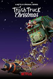 A Trash Truck Christmas Poster