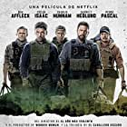 Ben Affleck, Pedro Pascal, Charlie Hunnam, Oscar Isaac, and Garrett Hedlund in Triple Frontier (2019)