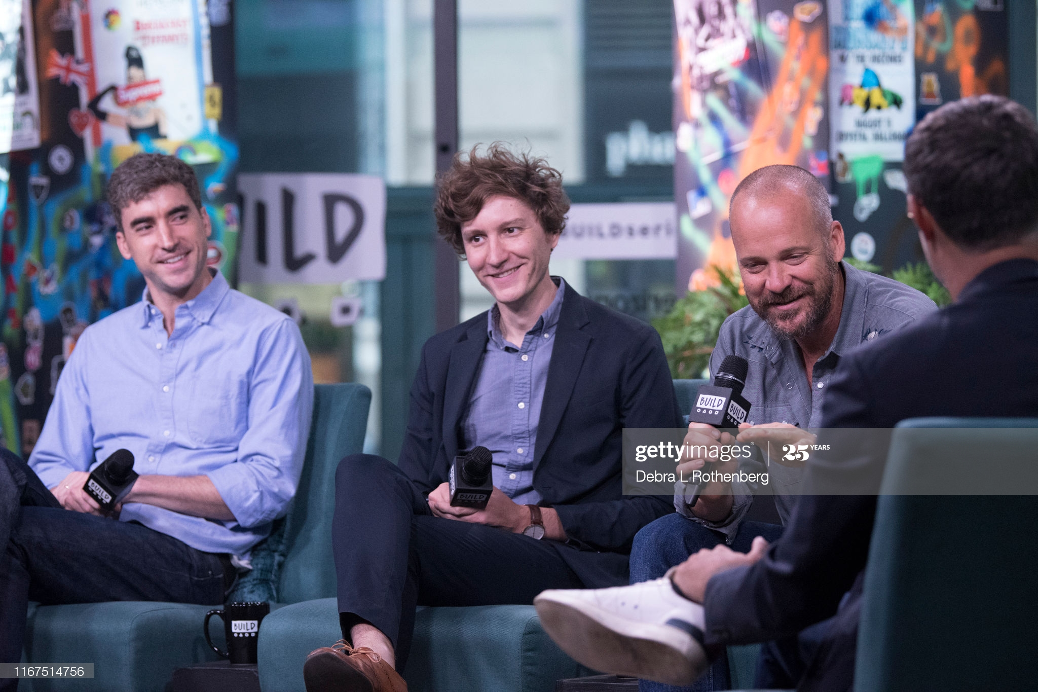 "Ben Nabors, Michael Tyburski and Peter Sarsgaard attend ""Build"" Series"