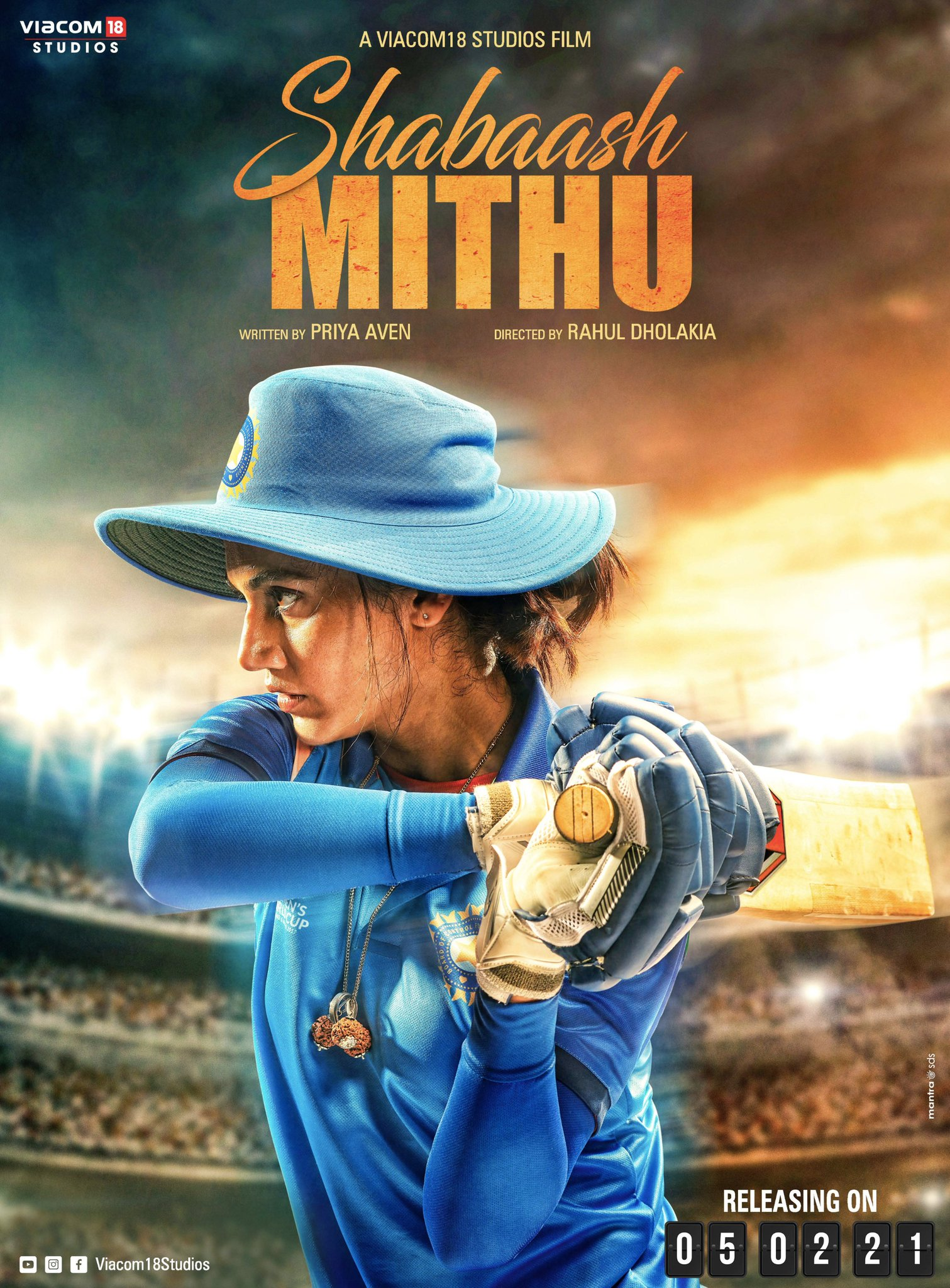 Image result for shabaash mithu poster