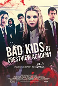 Sophia Ali, Samantha Hanratty, Erika Daly, Matthew Frias, and Colby Arps in Bad Kids of Crestview Academy (2017)
