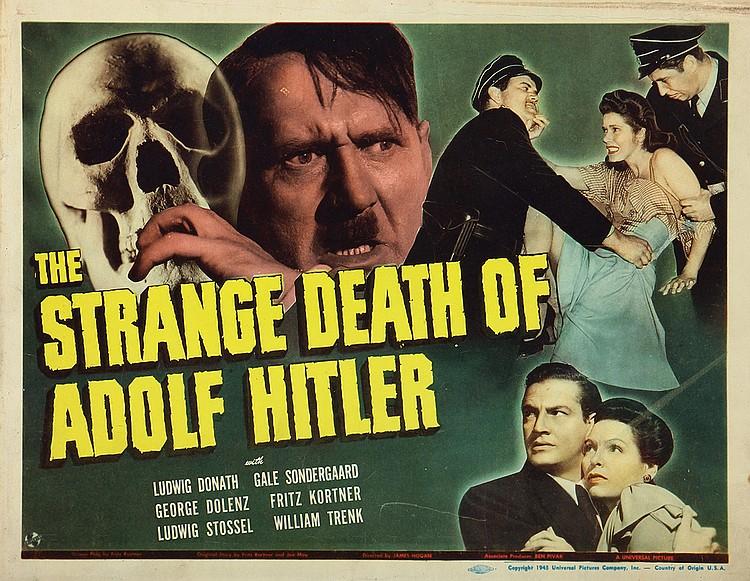 George Dolenz, Ludwig Donath, Gale Sondergaard, and Lotte Stein in The Strange Death of Adolf Hitler (1943)