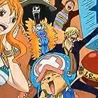 Hiroaki Hirata, Chô, Akemi Okamura, and Ikue Ôtani in Dream 9 Toriko x One Piece x Dragon Ball Z Super Collaboration Special!! (2013)