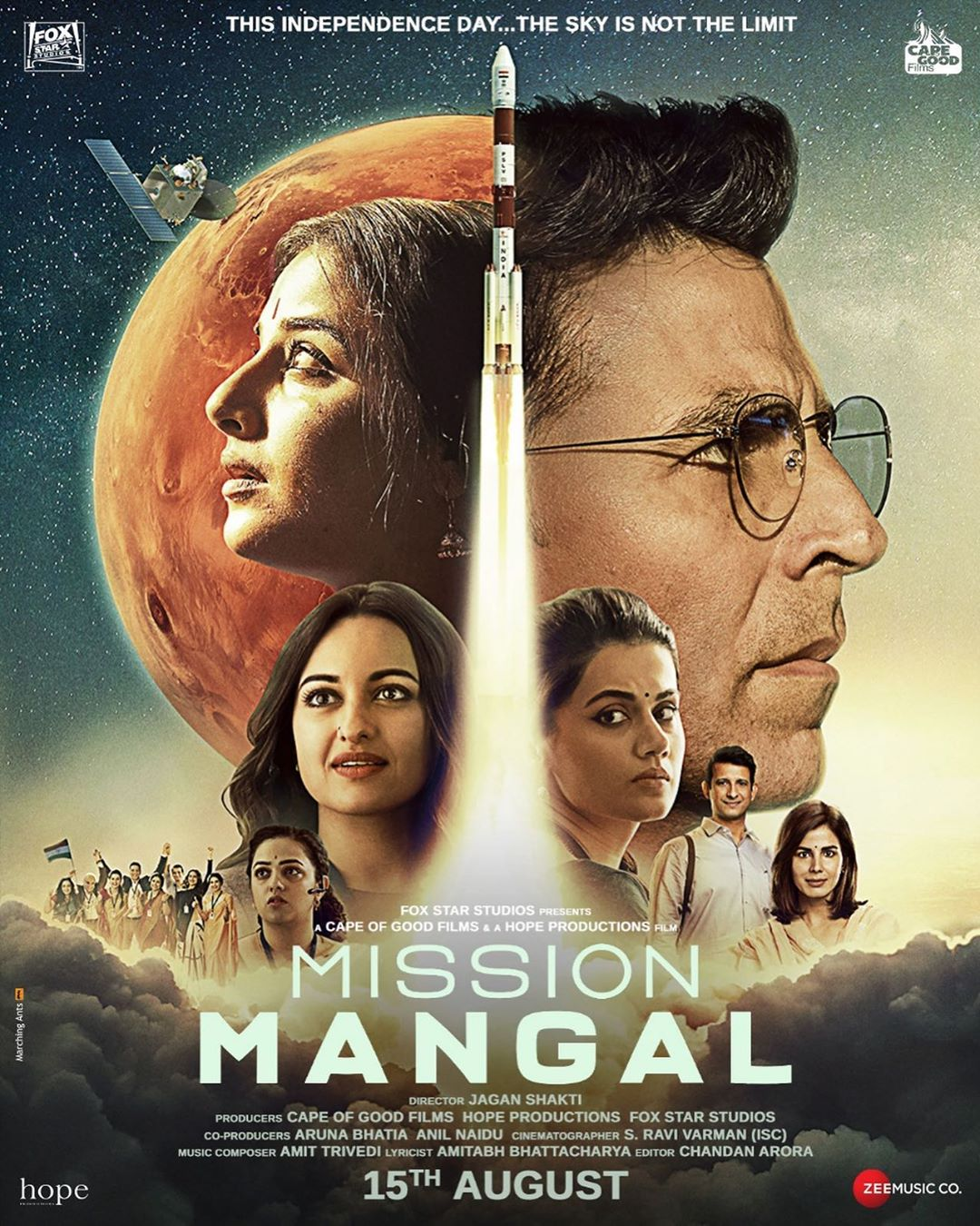 Image result for mission mangal poster""
