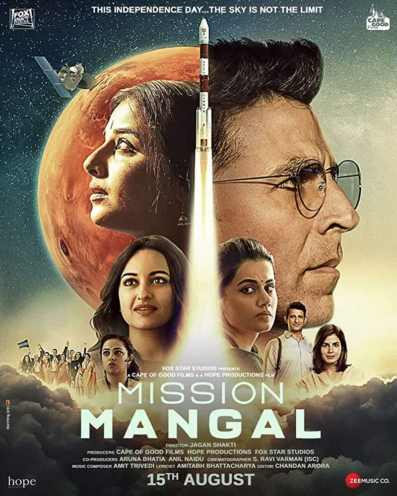 Mission Mangal (2019) Hindi 1080p | 720p | 480p HDRip x264 AAC Esub