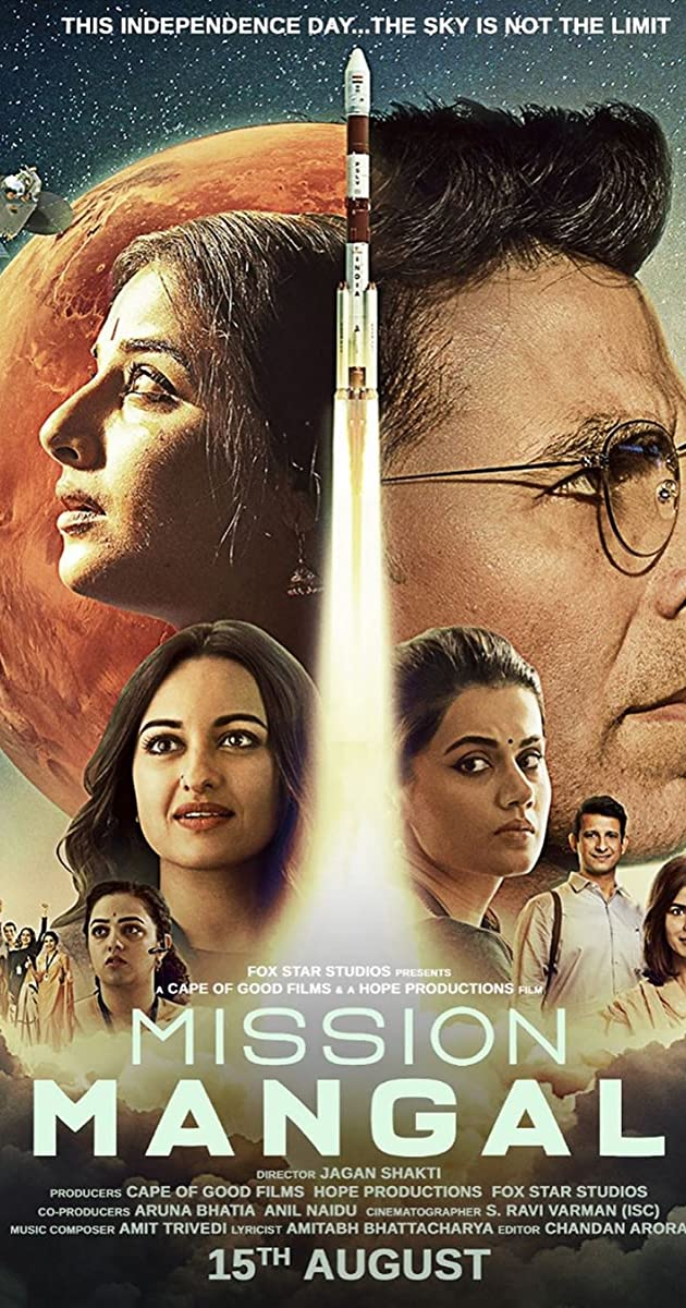 Mission Mangal 2019 Hindi PreDVDRip 720p x264 AAC - 1 2GB[MB]