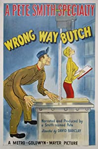 English movie dvdrip free download Wrong Way Butch [hdrip]