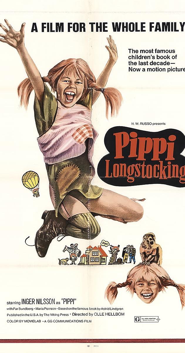 Checking Out Pippi Longstocking From >> Pippi Longstocking 1969 Imdb