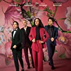 Cecilia Suárez, Juan Pablo Medina, Aislinn Derbez, and Dario Yazbek Bernal in The House of Flowers: The Movie (2021)