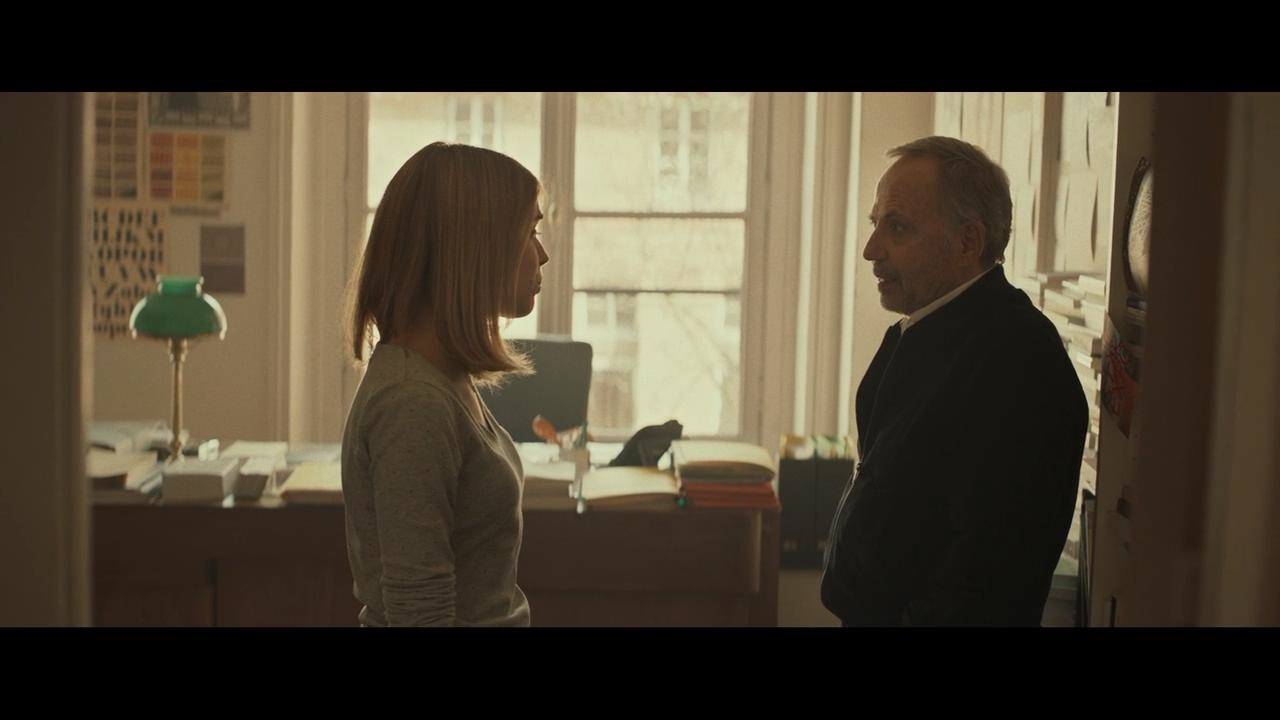 Fabrice Luchini and Alice Isaaz in Le mystère Henri Pick (2019)