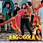 Sunny Deol and Dimple Kapadia in Aag Ka Gola (1990)