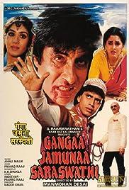 Gangaa Jamunaa Saraswathi Poster
