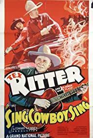 Tex Ritter and Al St. John in Sing, Cowboy, Sing (1937)