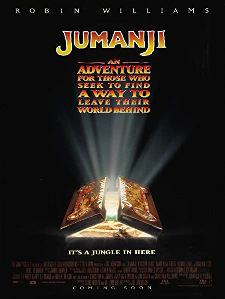 [PG] Jumanji (1995) Dual Audio Blu-Ray - 480P | 720P - x264 - 300MB | 900MB - Download & Watch Online  Movie Poster - mlsbd