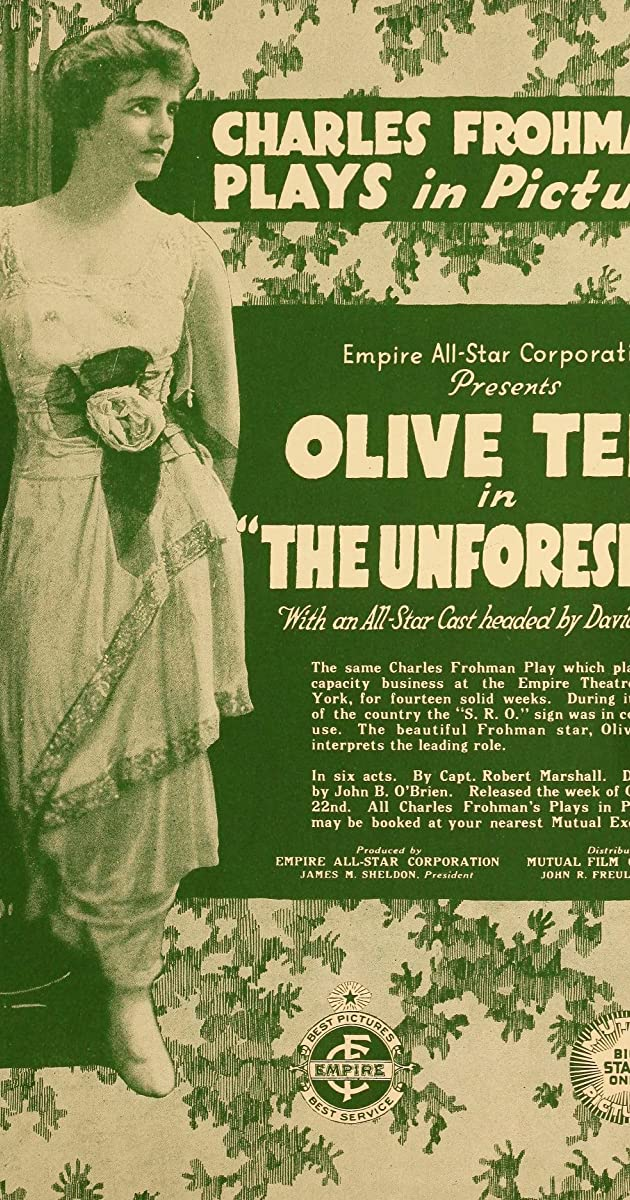 The Unforseen 1917 Imdb How to use unforeseen in a sentence. the unforseen 1917 imdb