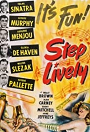 Step Lively (1944) Poster - Movie Forum, Cast, Reviews