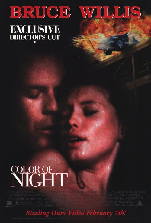 18+ Color of Night (1994) English 450MB BluRay Download