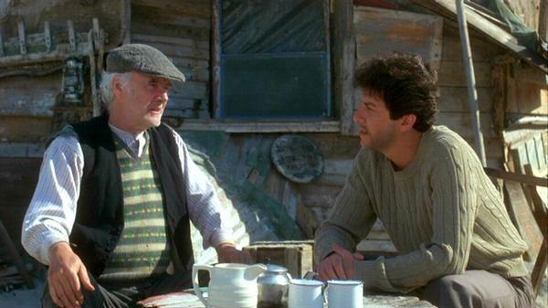 Fulton Mackay and Peter Riegert in Local Hero (1983)