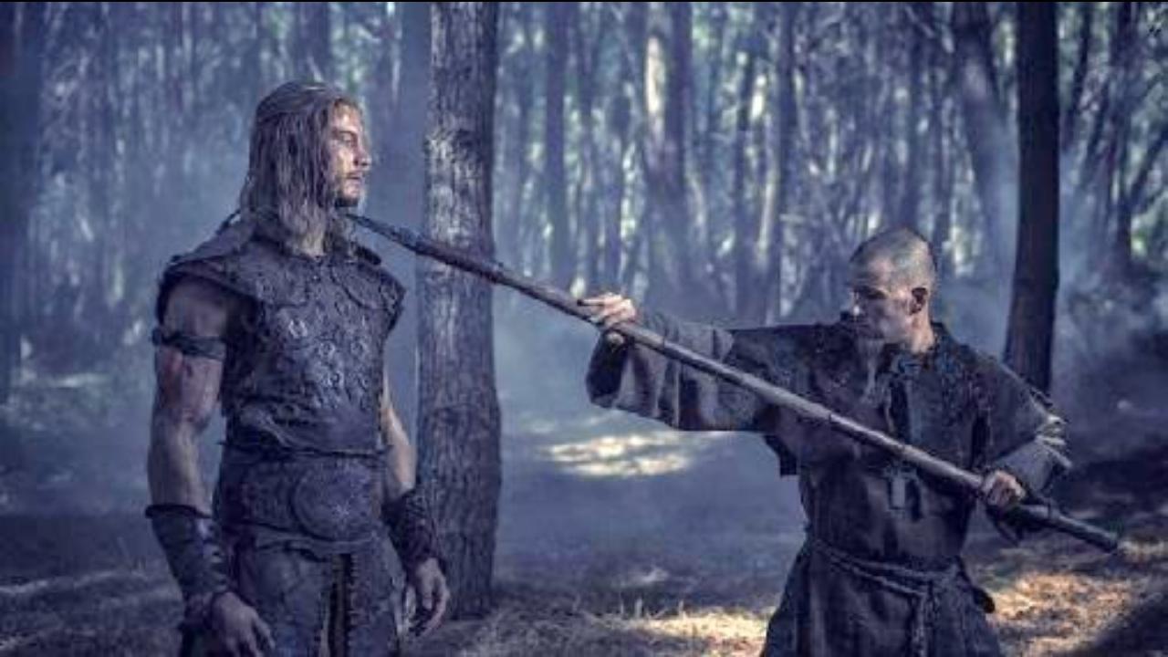 Ryan Kwanten and Tom Hopper in Northmen - A Viking Saga (2014)