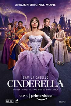 Pierce Brosnan, Minnie Driver, Idina Menzel, Billy Porter, Camila Cabello, and Nicholas Galitzine in Cinderella (2021)
