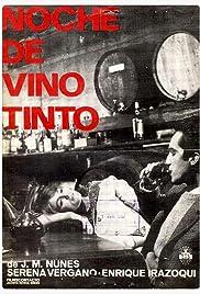 Noche de vino tinto Poster