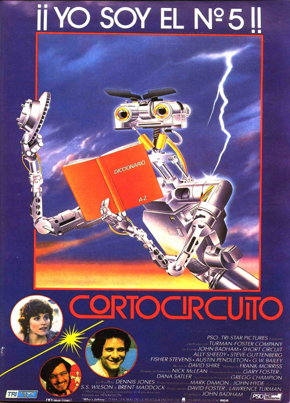 Tristar Titles Short Circuit Characters Number 5 Short Circuit 1986