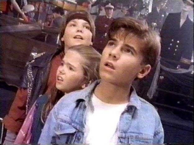 Ashleigh Aston Moore, Tony Sampson, and Illya Woloshyn in The Odyssey (1992)