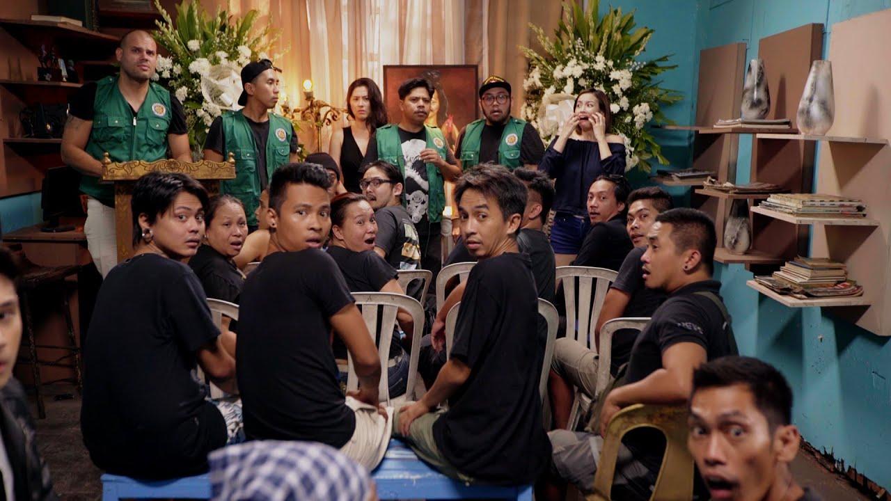Jun Sabayton, Gerard Acao, Bea Benedicto, Joel Ferrer, Herald Chavez, and Jinri Park in Tanods (2015)