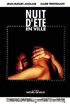 Nuit d'été en ville (1990) Poster